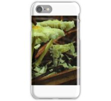 Withered Yellow Mushrooms iPhone Case/Skin