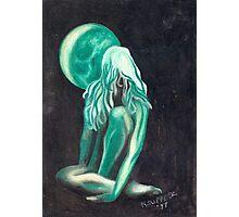 GreenGirl Photographic Print