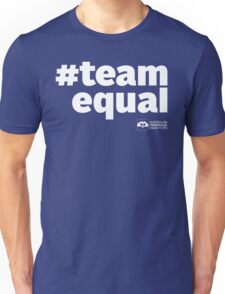 # Team Equal (White Text) T-Shirt