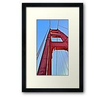 Golden Gate Perspective  Framed Print