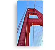Golden Gate Perspective  Canvas Print