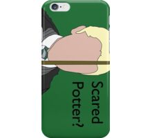 Scared Potter? iPhone Case/Skin