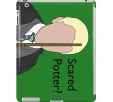 Scared Potter? iPad Case/Skin