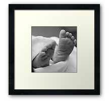 Tiny Feet Framed Print