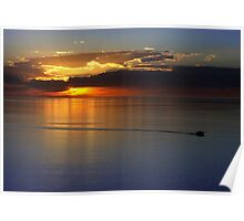 Gulf of St. Vincent Sunset Poster