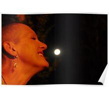 * 2 smelling da moon... Poster