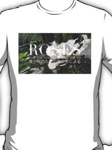 ROSES - ROSE BLOCK LOGO #1 T-Shirt