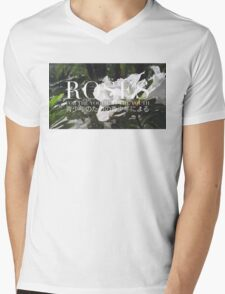 ROSES - ROSE BOX LOGO #1 Mens V-Neck T-Shirt