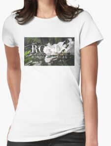 ROSES - ROSE BOX LOGO #1 Womens Fitted T-Shirt