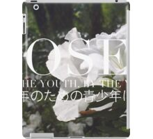 ROSES - ROSE BOX LOGO #1 iPad Case/Skin