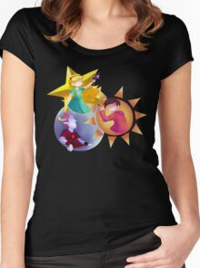 The Star, Sun and Moon Women's Fitted Scoop T-Shirt