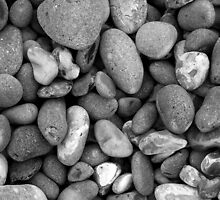Pebbles - Norfolk Beach. by jamesbowles