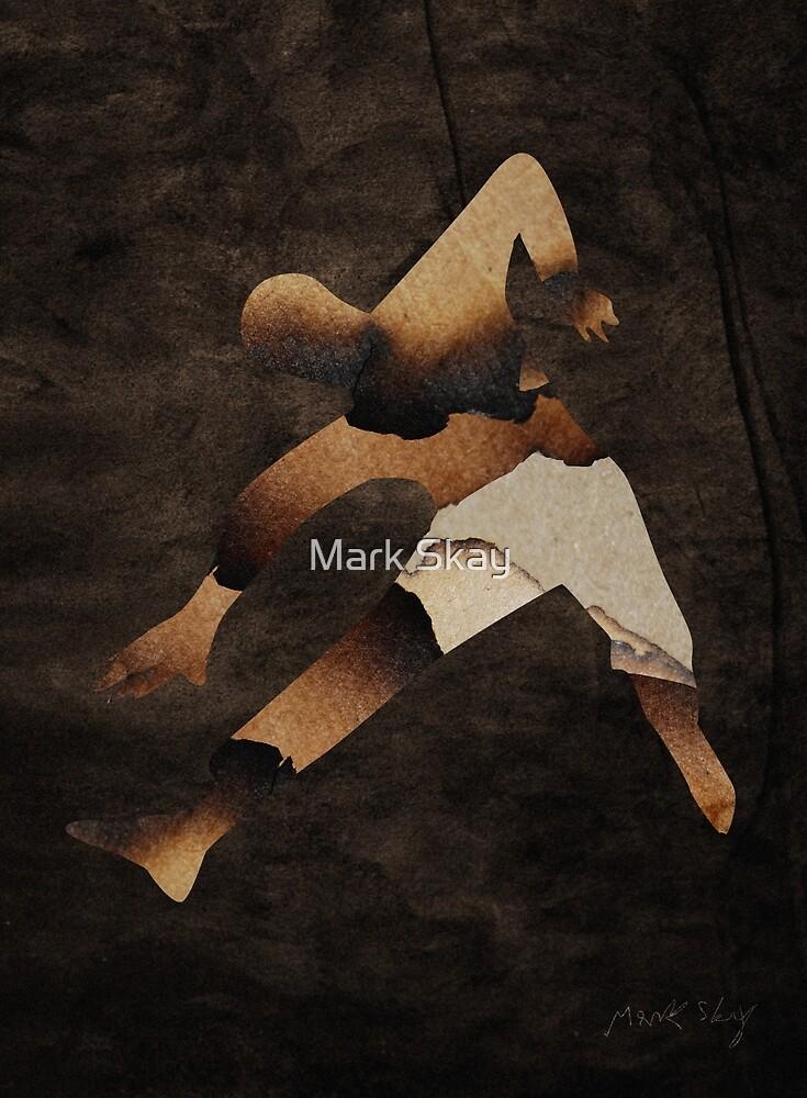 The Burning Man by Mark Skay