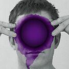 Purple Hole by Mark Skay