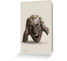 Talk to the head Greeting Card
