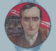 Poe with Cat by pixelspin