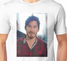 Markiplier in Red Flannel Unisex T-Shirt