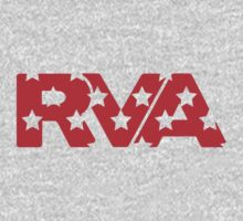 RVA -Stars Red One Piece - Long Sleeve