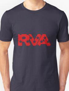 RVA -Stars Red Unisex T-Shirt