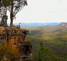 Carnarvon Bluff - Carnarvon Gorge - Queensland by AMP  Al Melville Photography