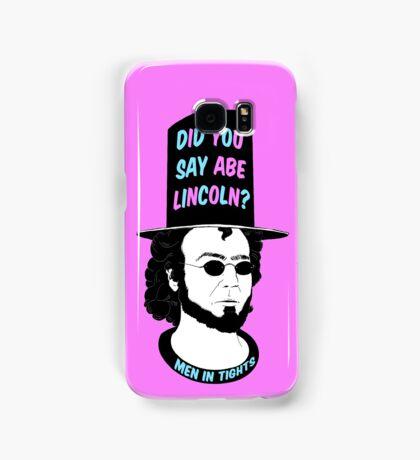 Men In Tights - Abe Lincoln Samsung Galaxy Case/Skin