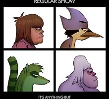 Regular show  by Francisco Miranda