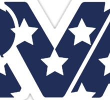 RVA -Stars Blue Sticker