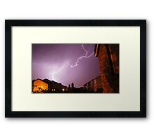 Light Show Framed Print