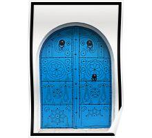 Tunisian Doorway Poster