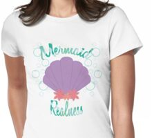 Mermaid Realness Womens Fitted T-Shirt