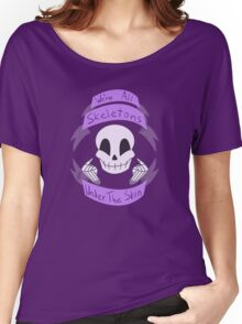 Skeletons Under The Skin Women's Relaxed Fit T-Shirt