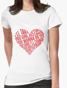IM5 - Me and This Girl Womens Fitted T-Shirt
