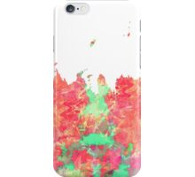 WATER COLOUR SPLASH iPhone Case/Skin