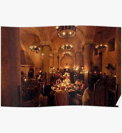 Cistern Restaurant, Sultanahmet, Istanbul Poster