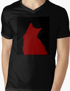Simply Suki in Red  Mens V-Neck T-Shirt