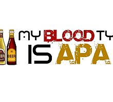 My Blood Type is APA by brzt