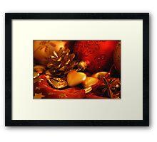 Happy Christmas Framed Print