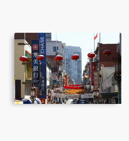 Chinatown ~ San Francisco Canvas Print