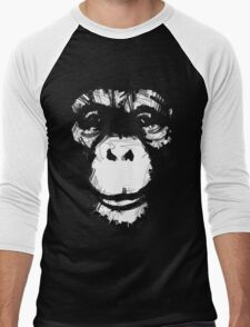 Everything's More Fun With Monkeys Men's Baseball ¾ T-Shirt
