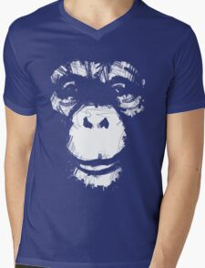 Everything's More Fun With Monkeys Mens V-Neck T-Shirt