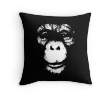 Everything's More Fun With Monkeys Throw Pillow