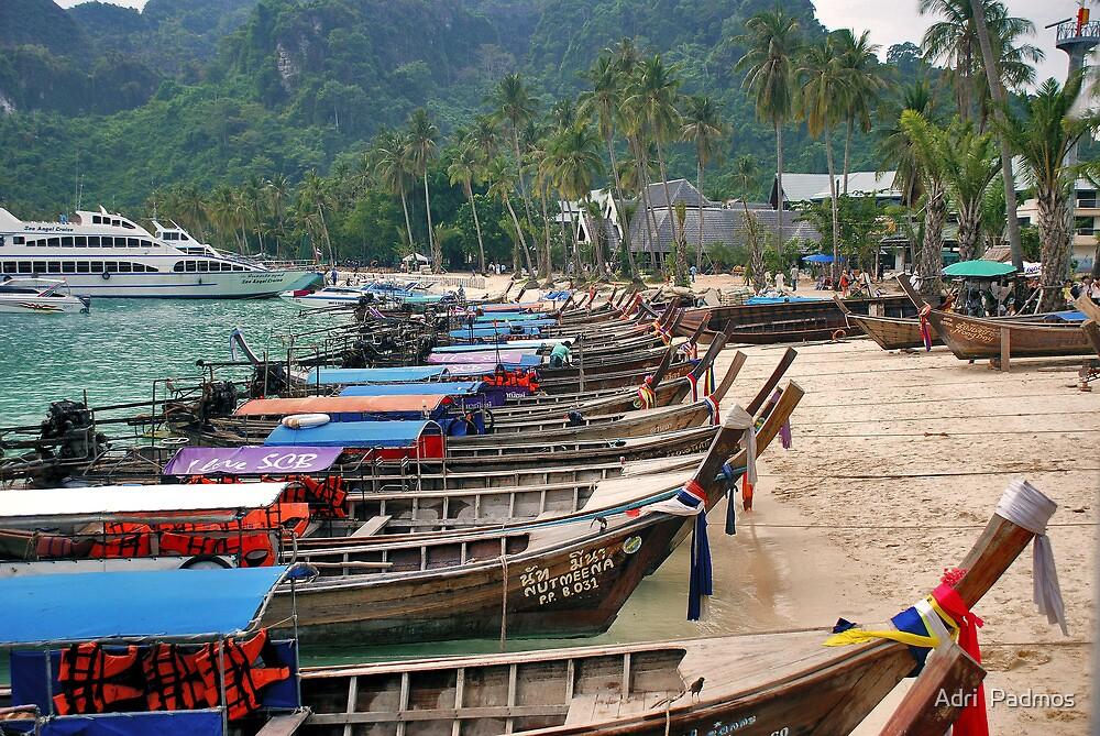 Koh Phi Phi Don by Adri  Padmos
