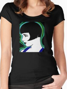 Louise Brooks Women's Fitted Scoop T-Shirt
