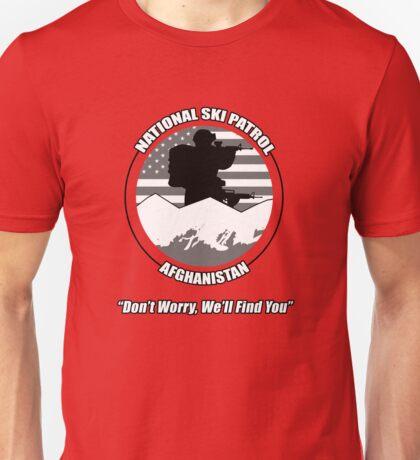 National Ski Patrol - Afghanistan Unisex T-Shirt