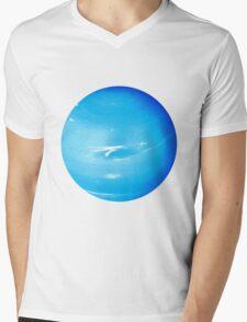 Uranus Mens V-Neck T-Shirt