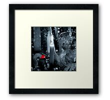 With Love From Me Framed Print