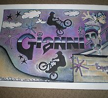 Gianni personalised picture by FoxyArtz