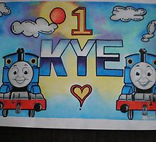 Kye personalised picture by FoxyArtz