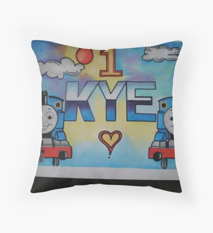Kye personalised picture Throw Pillow