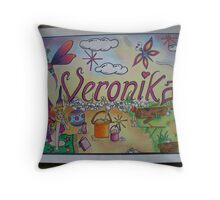 Veronika personalised picture Throw Pillow